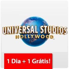 UNIVERSAL STUDIOS HOLLYWOOD - PROMOÇÃO: 01 Dia + 01 Grátis!